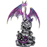 Nemesis Now Leal Defender - Figura Decorativa (27 cm), Color Morado