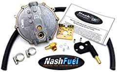 """Tri-Fuel Conversion kit for the model 63584 Run on low pressure natrual gas, low pressure propane or gasoline Case modification required for alternative fuel supply hose Maximum inlet pressure 13.8""""wc All componenets Made in USA"""