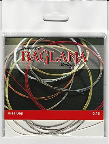 Türkische Baglama-Saz-Saiten mit kurzem Hals TRS-101
