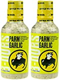 Buffalo Wild Wings Barbecue Sauce - Parm Garlic - 20 Fl. Oz. (2 Pack)