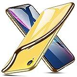 ESR Transparent Silikon Hülle für iPhone XR, Ultradünnen Weiche Silikonhülle Flexibel Bumper...