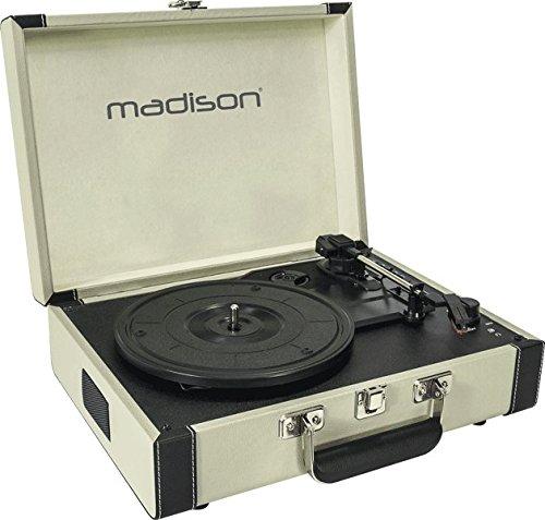 Madison Mad-Retrocase-Cr - Maleta giradiscos