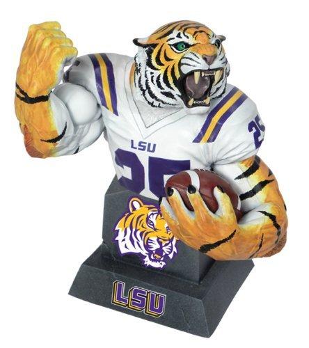 CS Moore Studios MX Collectibles College Football LSU Tigers Team Mascot Bust [並行輸入品]