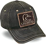 Ducks Unlimited Weathered Cotton Cap Brown