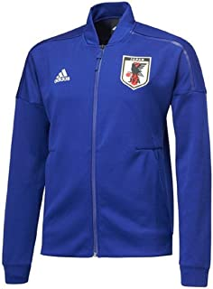adidas アディダス サッカー日本代表 ZNEニットジャケット プレゼンテーションジャケットトレーニングウェア ジャージ 上 M(167-173cm) 国内正規品 EAY43 ジャパンブルー