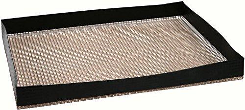 Culinario Grill- und Backkorb - antihaftbeschichtet, bis 260 °C hitzeresistent, 29 x 34 cm, als Backpapier Ersatz verwendbar