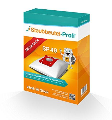 20 Staubsaugerbeutel geeignet für AEG VX4-1-CB-P von Staubbeutel-Profi® kompatibel mit Swirl PH86 / E82 / PH96 / VO75