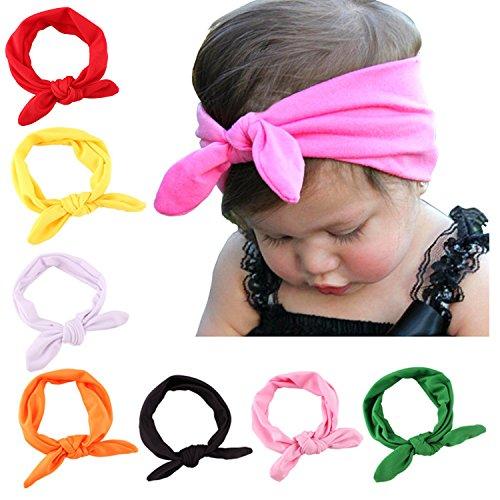 Baby Girl Cute Headband Head Wrap Hair BandStyle 1 8 PackOne Size