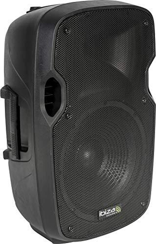 Ibiza - XTK12A - Bafles de sonido con ABS activo, 12' / 500W, Negro