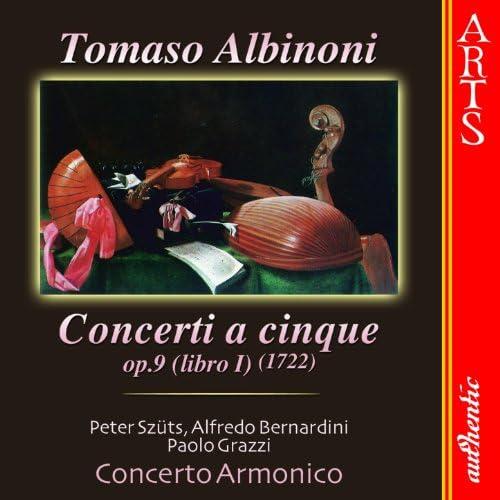 Concerto Armonico, Peter Szüts, Alfredo Bernardini & Paolo Grazzi