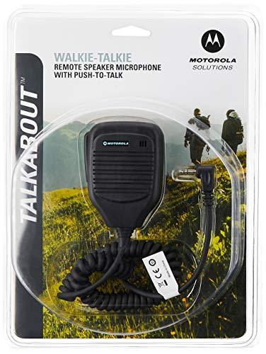 Motorola Lautsprechermikrofon, One Size, schwarz