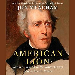 American Lion audiobook cover art
