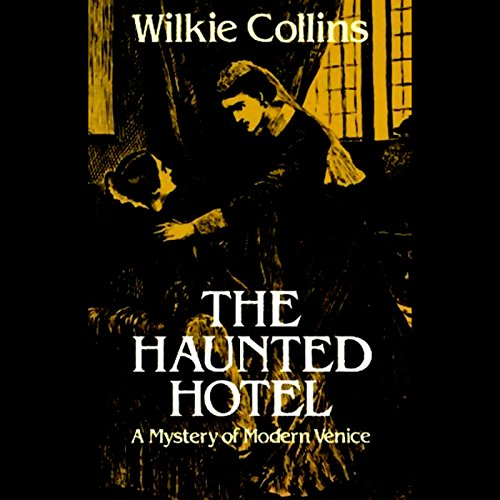 The Haunted Hotel audiobook cover art