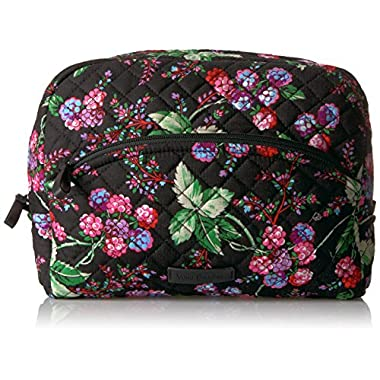 Vera Bradley Iconic Large Cosmetic-Signature