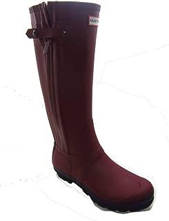 Original Slim Two Tone Tall Rubber Lava Red Women's Rain Boots