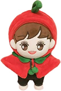 VogueMing Cute Kpop EXO Plush Fruit Park Chanyeol Doll Toy Full Set with Clothes 20cm/8'' Limited Gift