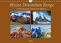 Meine Dolomiten Berge (Wandkalender 2022 DIN A4 quer): Impressionen meiner schoensten Berge in den Dolomiten (Monatskalender, 14 Seiten )