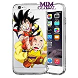 MIM Global Dragon Ball Z Super GT Etuis Coque Case Cover Compatible pour Tous iPhone (iPhone 6/6s, Buddies)