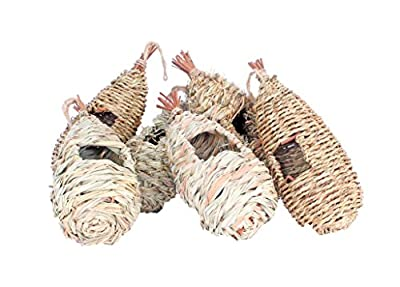 Wildlife World Roosting Nest Pockets -Mixed Pack of 6 by Wildlife World
