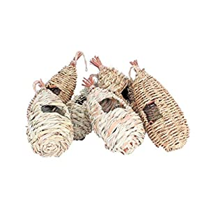 Wildlife World Roosting Nest Pockets -Mixed Pack of 6