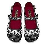 Hot Chocolate Design Chocolaticas Gothic Lolita Ballerina Mary Jane für Frauen Mehrfarbig HCD 36