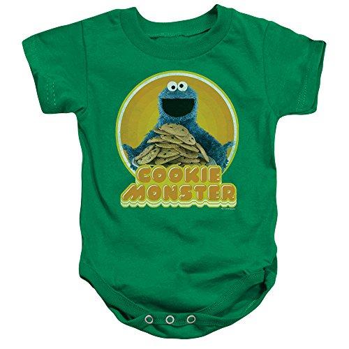Sesame Street - Barboteuse - Bébé (garçon) - vert - 6 mois