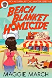 Beach Blanket Homicide (Lucy McGuffin, Psychic Amateur Detective Book 1)