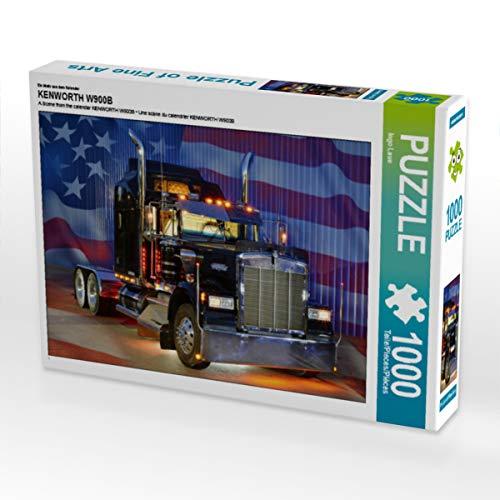 Produktbild CALVENDO Puzzle Kenworth W900B 1000 Teile Lege-Größe 64 x 48 cm Foto-Puzzle Bild von Ingo Laue