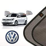 Cortinillas Parasoles Coche Laterales Traseras a Medida para Volkswagen Touran (2) (2010-2015) Monovolumen