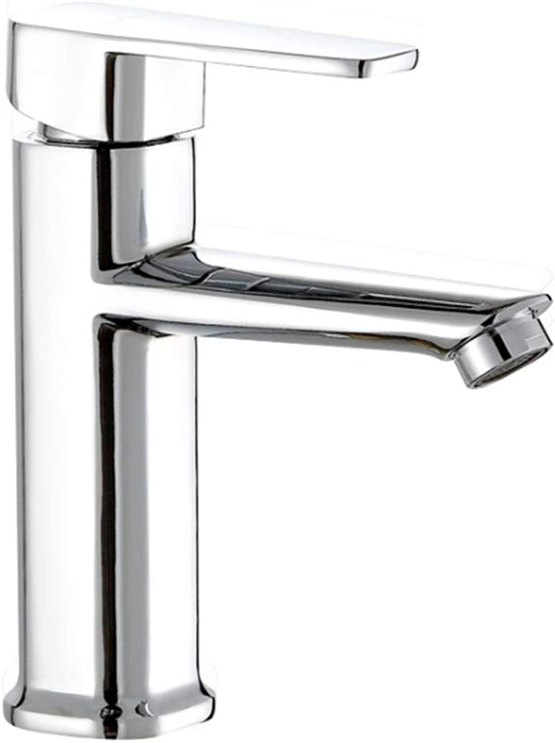 Kitchen Taps Faucet Modern Kitchen Sink Taps Stainless Steelcopper Single Hole Cold and Hot Faucet Toilet Basin Washbasin Table Basin Cold and Hot Water Faucet