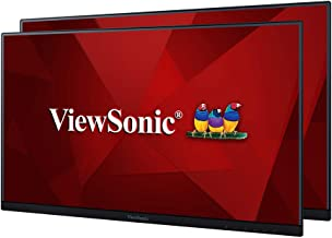 ViewSonic VA2456-MHD_H2 Frameless Dual Pack Head-Only 1080p IPS Monitors with HDMI DisplayPort and VGA for Home and Office