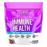 Zipfizz Immune Health Drink Mix, Immune Boost with Zinc & Vitamin C, Caffeine-Free, Pink, Berry, 30 Count