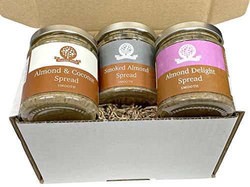 Nutural World - Collezione Burro di Noce di Mandorle Speciale - Liscio (set di 3) - 170g
