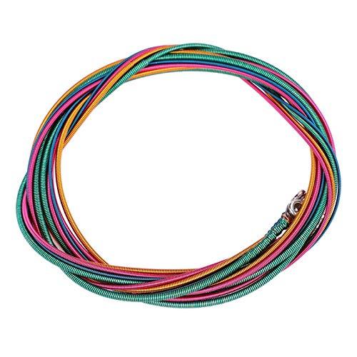 Cuerdas de bajo eléctrico, no le cortan las manos Cuerdas de bajo suaves y resistentes 4, Bajo de aleación de níquel para instrumento para principiantes de bajo eléctrico