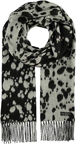 FRAAS Cashmink®-Schal im Animal-Style - Made in Germany für Damen Schwarz