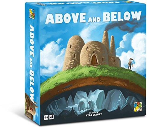 dV Giochi- Above And Below-Un Originale Gioco di Esplorazione e Narrazione dai Risvolti Imprevedibili-Edizione Italiana, DVG9026