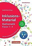 Inklusions-Material Grundschule: Mathematik Klasse 1-4: Buch mit CD-ROM - Dr. Gerald Klenk
