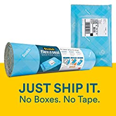 SAVES ON TIME, SUPPLIES & SPACE – Using boxes and bubble mailers for shipping means you need multiple sizes, which requires a lot of storage space. There can also be a lot of steps involved with using boxes resulting in a lot of time spent getting an...