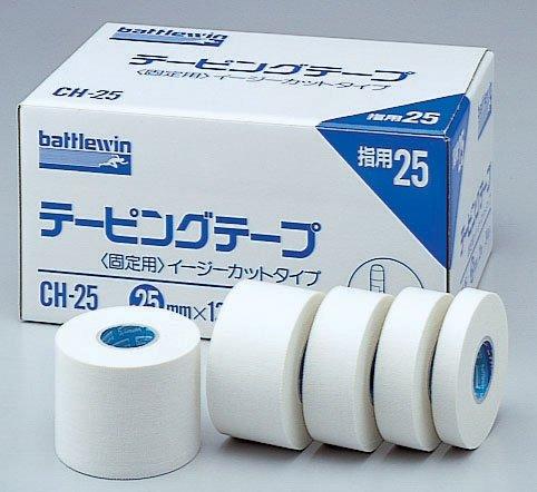 バトルウィン テーピングテープ C-タイプ(非伸縮) 12mm×12m CH12 36巻
