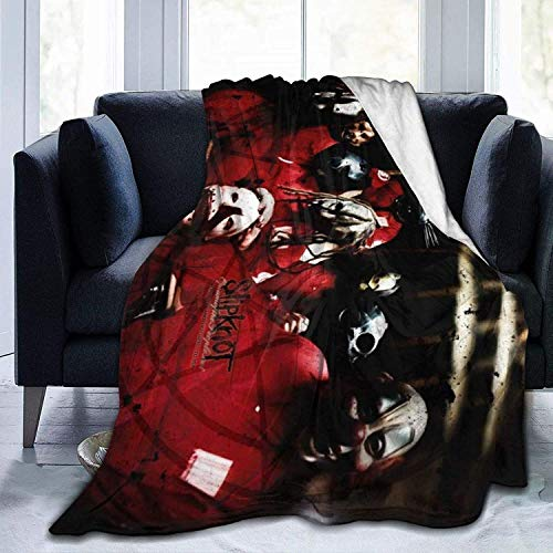 'N/A' WJOOM Slipk-Not- Flannel Fleece Blanket Bedroom Living Room Warm Throws Blanket All Season for Sofa Bed Couch Office Camping