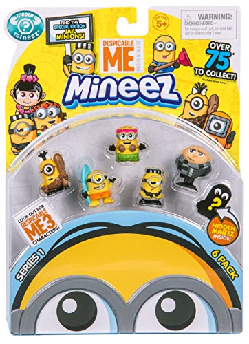 Despicable Me Mineez Character Pack