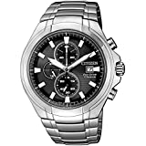 Citizen Men's Eco-Drive CA0700-86E Silver Stainless-Steel Fashion Watch