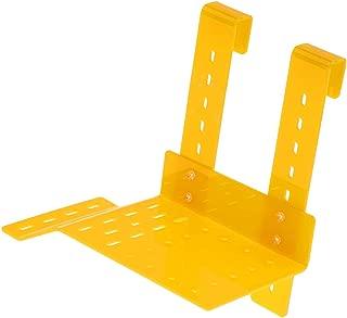 Flameer Turtle Pier Basking Platform Hanging Shelf Dock Ramp Ladder for Reptiles Amphibians (Yellow