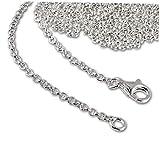 SilberDream 925 Sterling Silber Charm Halskette 90cm Kette für Charms Anhänger FC00299-1