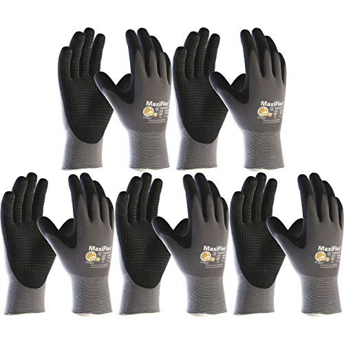 Handschuhe ATG Maxiflex Endurance 844 Arbeitshandschuh Größe 8 (M) | 5 Paar