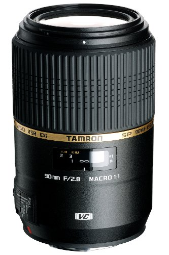 TAMRON 単焦点マクロレンズ SP 90mm F2.8 Di MACRO 1:1 VC USD キヤノン用 フルサイズ対応 F004E