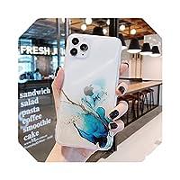 グラデーションキラキラスパンコールfor iphone 12 Mini 12 11 Pro最大XR XS MAX 7 8プラスケースソフトIMD電話カバー -e-For for iphone SE 2020