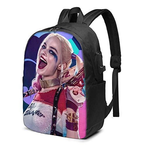 S-Uicide S-Quad Laptop Rucksack Busin Reiserucksäcke für Männer Frauen Schulrucksack Cool Lightweight Bookbags 17in