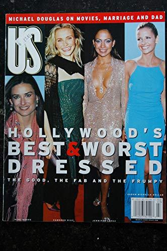 US 266 - 2000 03 - Demi Moore Cameron Diaz Jennifer Lopez Sarah Michelle Gellar - Michael Douglas - Tina Turner - 90 pages