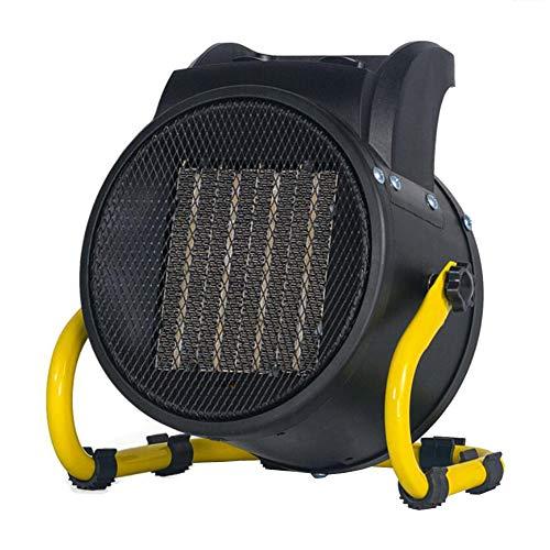 YCSD 3000W Portátil Cerámica PTC Calentador De Ventilador Calentador Eléctrico Calentador De Espacio con 2 Configuraciones De Calor Y Configuración De Ventilador De Enfriamiento,termostato - Negro